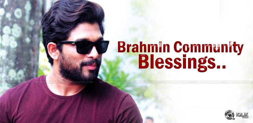 allu-arjun-duvvadajagannadham-brahmin-blessings