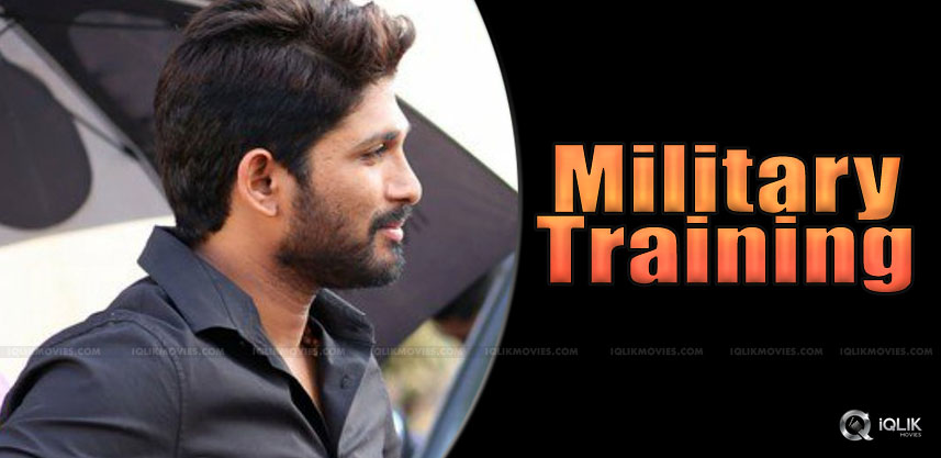 allu-arjun-to-undergo-military-training