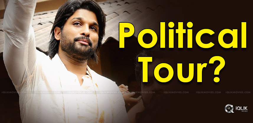 political-tour-of-allu-arjun-in-palakollu