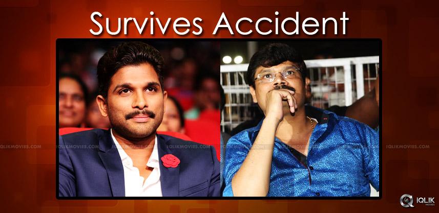 allu-arjun-boyapati-srinu-survives-lift-accident