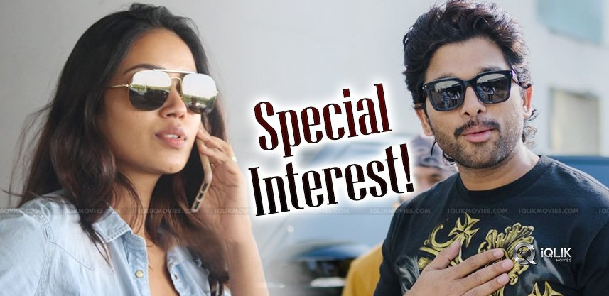 Bunny To Spend More Time With Nivetha Pethuraj?