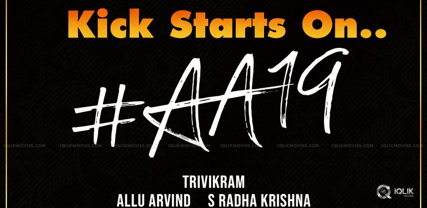 allu-arjun-19-th-movie-shooting-details