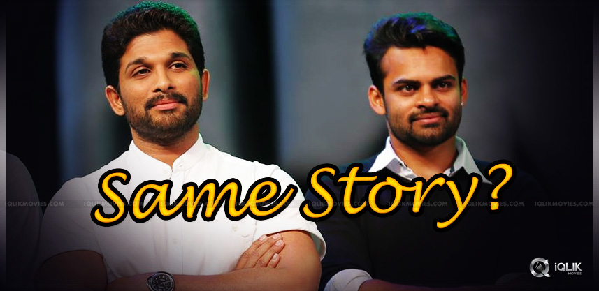 sai-dharam-tej-and-allu-arjun-for-one-story