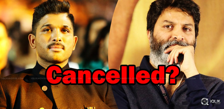 allu-arjun-and-trivikram-movie-is-cancelled