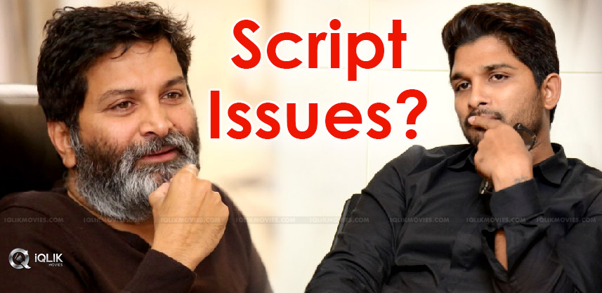 second-half-script-issue-for-trivikram-bunny