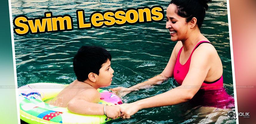 anasuya-s-swimming-classes-to-her-son