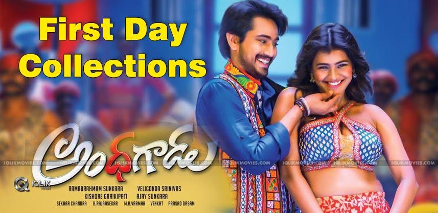andhagadu-first-day-collections-rajtarun