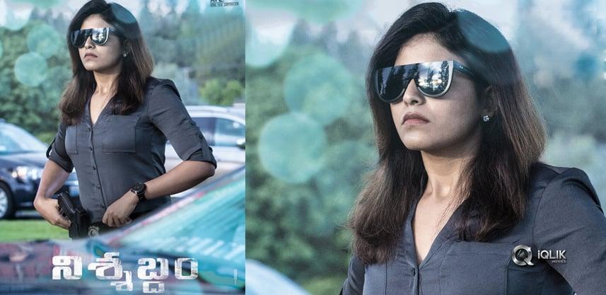 anjali-first-look-nishabdham-movie