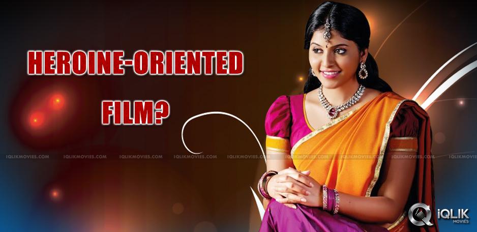 telugu-heroine-anjali-in-a-female-oriented-movie