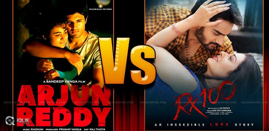 Arjun Reddy Vs RX100: What Is What?