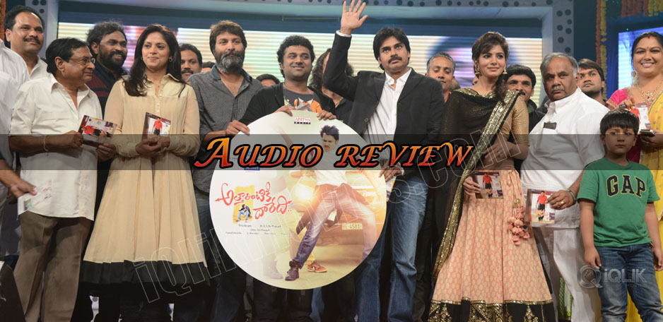 Attarintiki-Daredi-Audio-Review