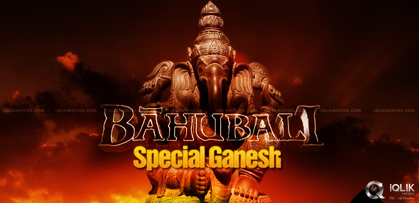 baahubali-ganesha-making-started
