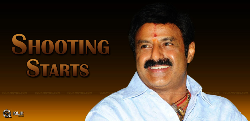 balakrishna-dictator-movie-shooting-date-details