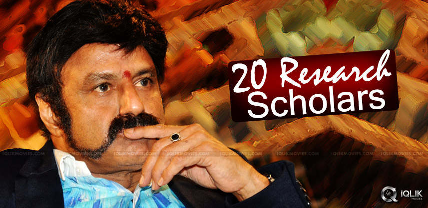 research-for-balakrishna-100th-film