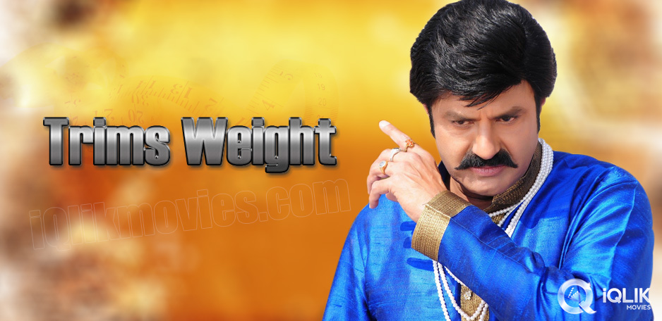 Balakrishna-sheds-weight-for-Legend