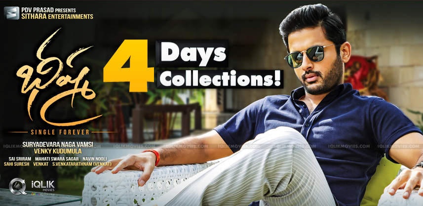 Bheeshma Four Days Collections