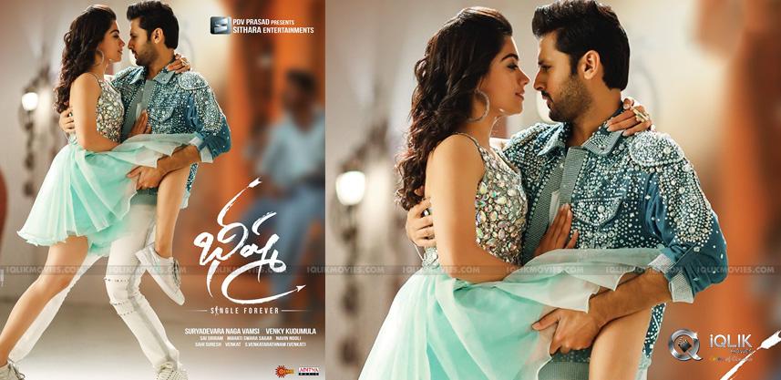 Bheeshma S New Poster Romantic Tik Tik