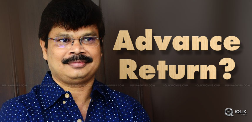 boyapati-sreenu-returned-advance-to-mythri