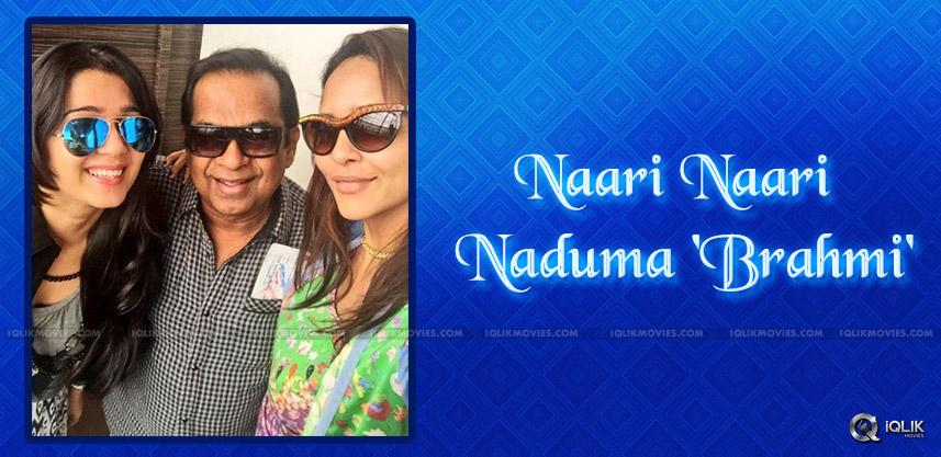 brahmanandam-selfie-with-lakshmi-manchu