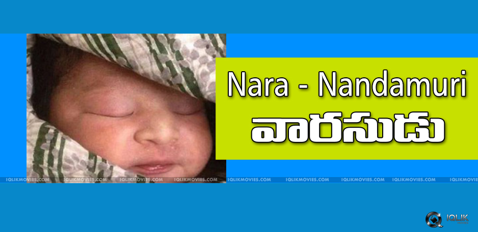 brahmani-lokesh-new-born-baby-boy-details