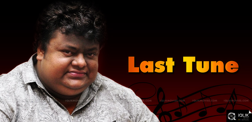 music-director-chakri-last-film