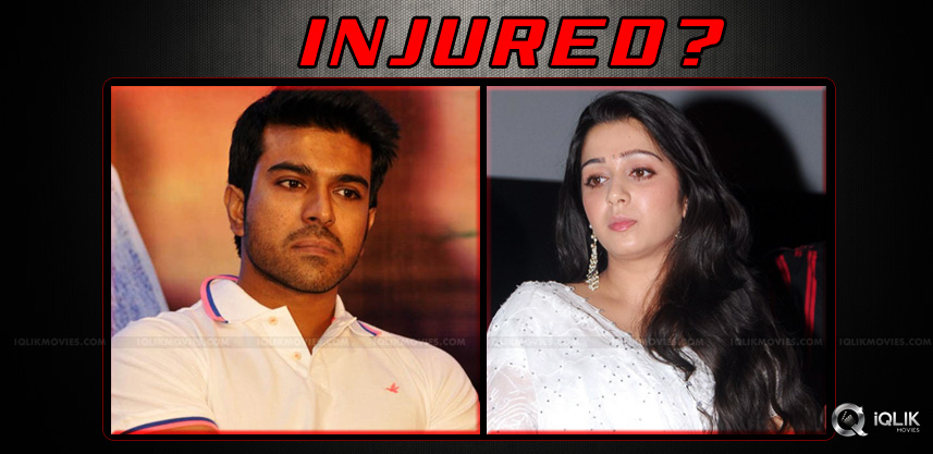 charmee-got-injured-at-jyothilakshmi-shooting