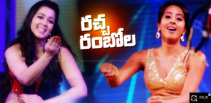charmi-hansika-dance-performance-at-trisha-wedding
