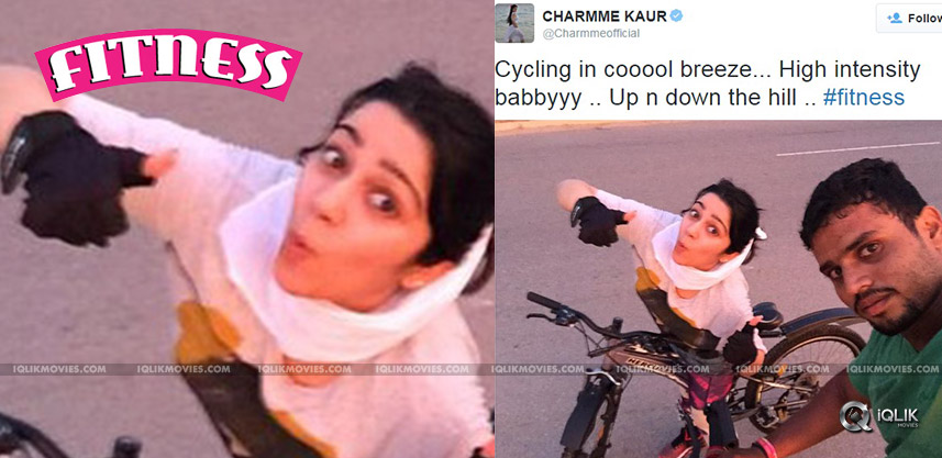charmme-posts-her-cycling-images