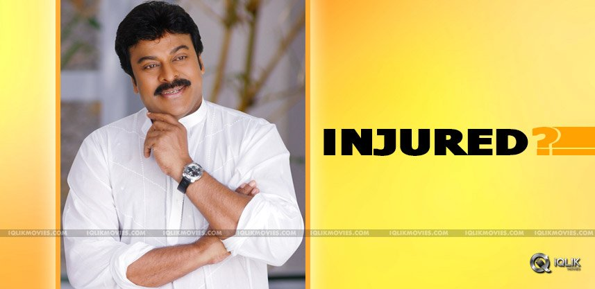 chiranjeevi-recovering-from-minory-injury-news