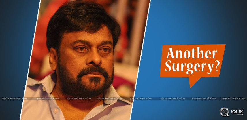 speculations-on-chiranjeevi-another-surgery-done