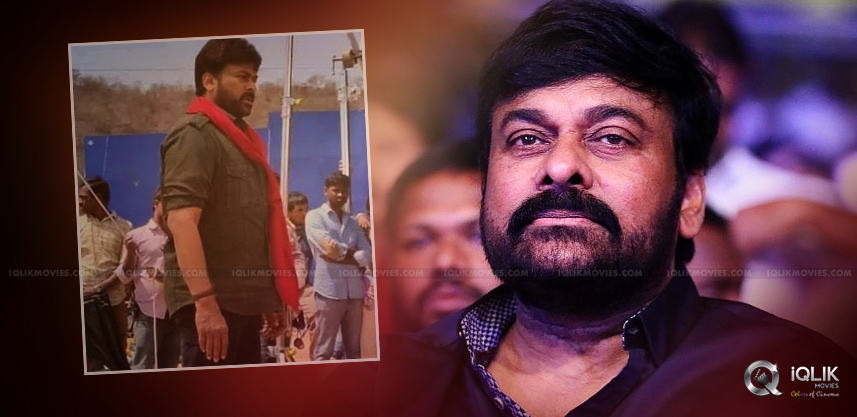 Chiranjeevi's Look For His Next Is Leaked
