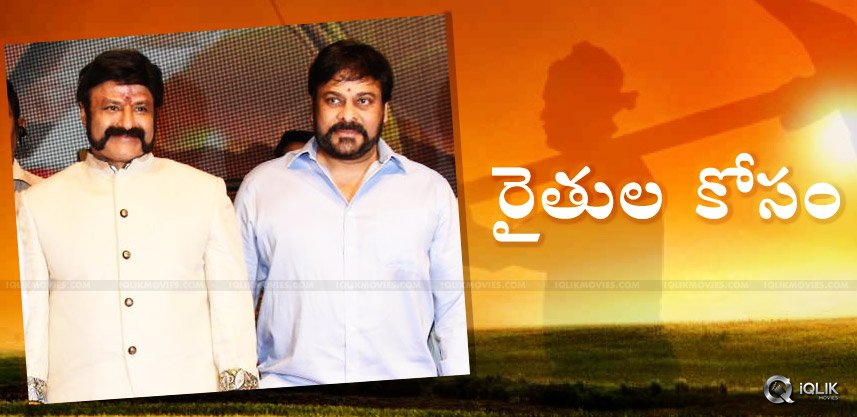 chiranjeevi-balakrishna-films-on-farmers-issues