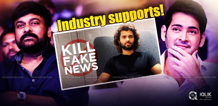 Megastar-Superstar-supports-Vijay-Devarakonda
