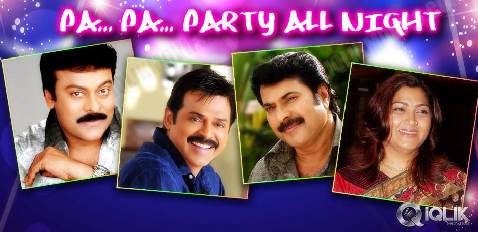 Chiranjeevi-Venkatesh-Khushboo-and-30-stars-party-