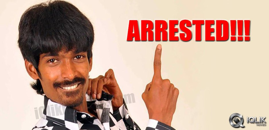 Comedian-Dhanraj-busted-in-a-massage-center