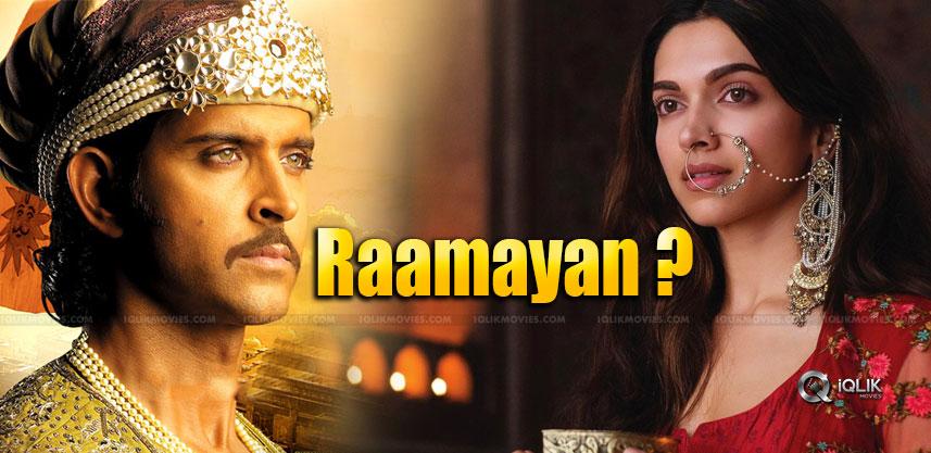 Hrithik and Deepika in Ramayana ?