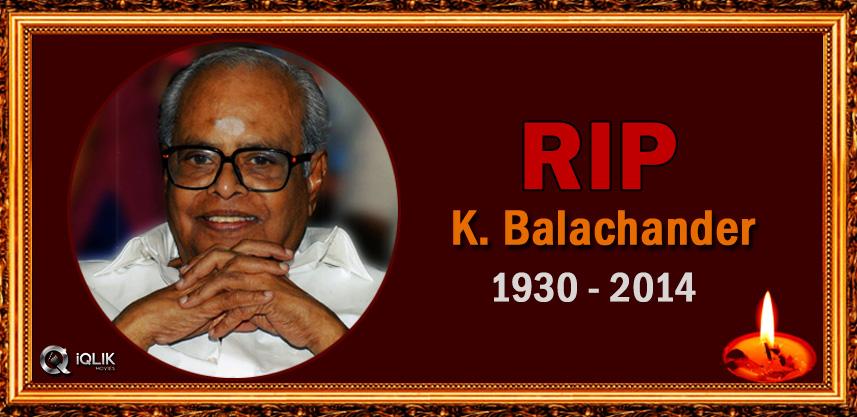 director-k-balachander-passed-away
