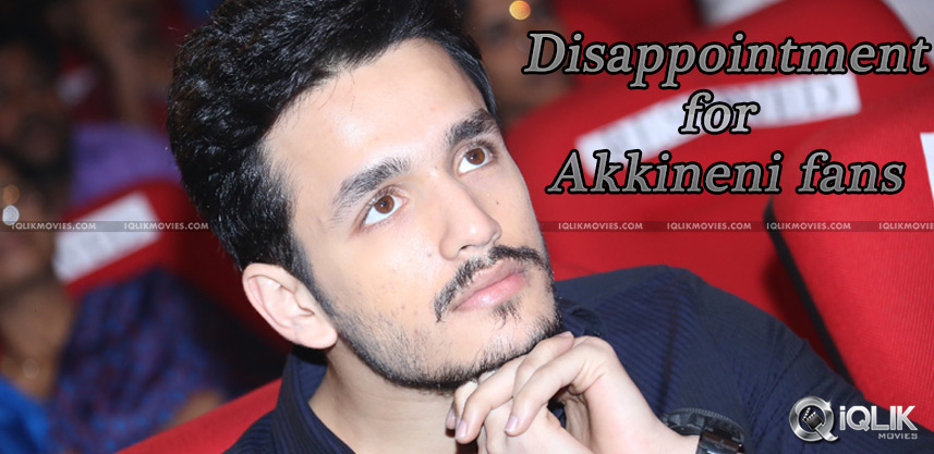 akhil-akkineni-debut-news-not-announced