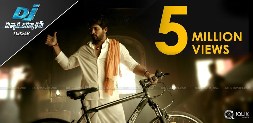 alluarjun-duvvadajagannadham-teaser-five-million
