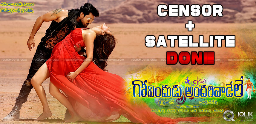 govindudu-andari-vadele-censor-report-and-release-