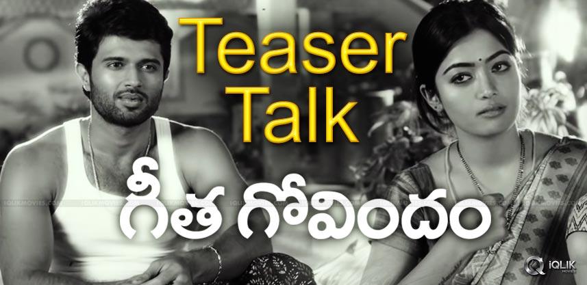 geetha-govindam-teaser-talk-review-details