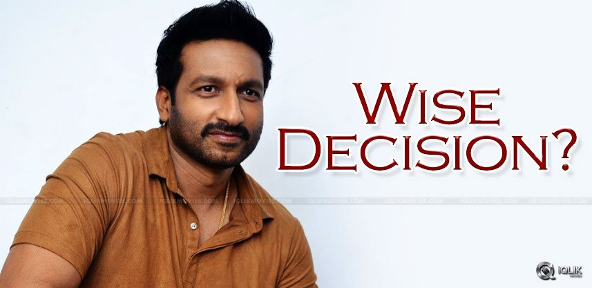 gopichand-decision-about-movies