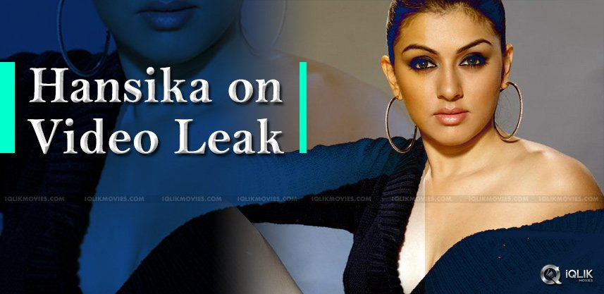 hansika-ignores-fake-shower-leak-videos