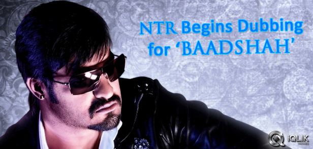 NTR-begins-dubbing-for-Baadshah