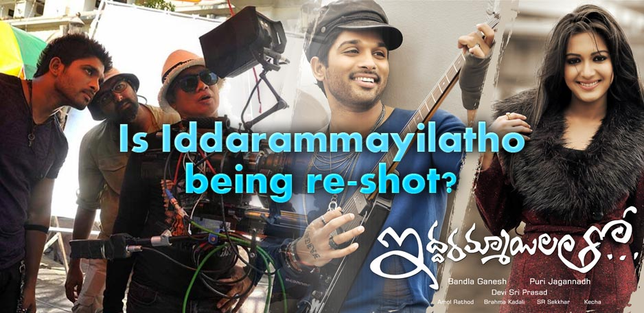 Is-Iddarammayilatho-being-re-shot-