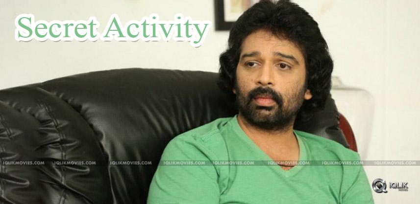 amma-rajasekhar-directing-jd-chakravarthy-film