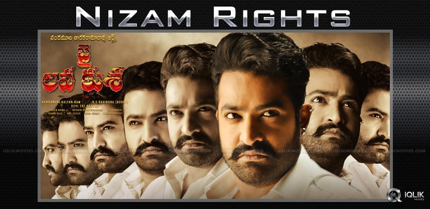 Jai-Lava-Kusha-NTR-nizam-rights
