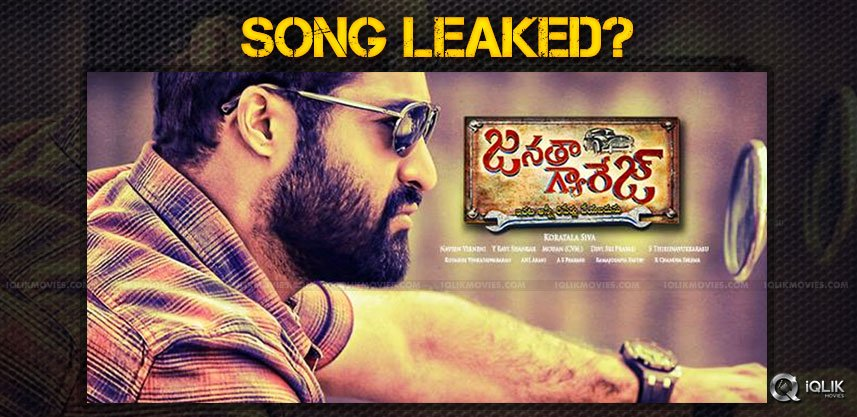 ntr-janatha-garage-film-song-leak-details