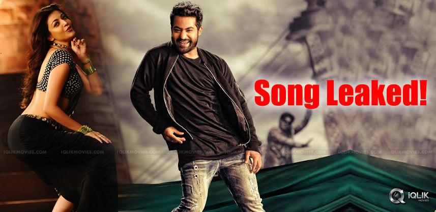 jrntr-kajal-aggarwal-pakka-local-song-leaked