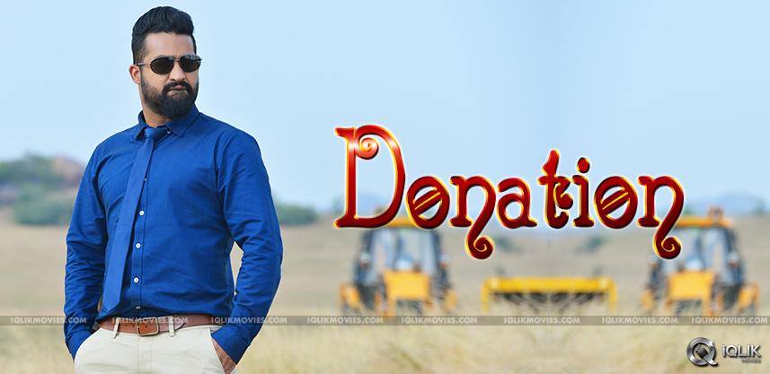 jr-ntr-donates-to-balakrishna-trust